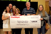 Happy Valley Fred Meyer opening donations 11-04-16