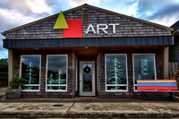 Art store in Port Orford